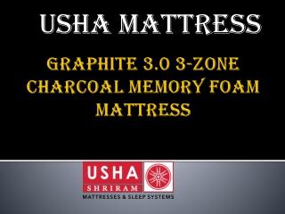 Graphite 3.0 3-Zone Charcoal Memory Foam Mattress