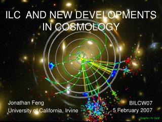 ILC  AND NEW DEVELOPMENTS IN COSMOLOGY