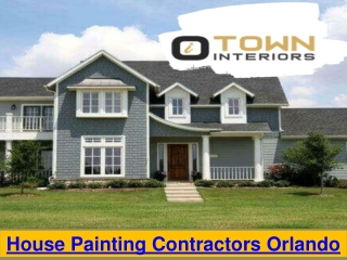 House Painting Contractors Orlando