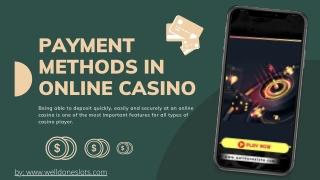 Payment Methods In Online Casino PDF