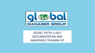 Brief Introduction on Global Manager Group's Reademade ISO 19770 Documents