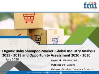 Organic Baby Shampoo Market