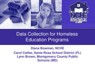 Data Collection for Homeless Education Programs