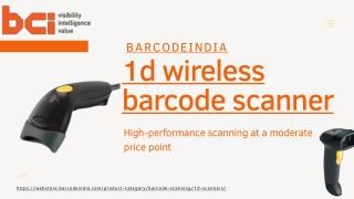 1d Wireless Barcode Scanner, 1d Barcode Scanner Online - Bar Code India