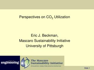 Perspectives on CO 2  Utilization