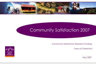 Community Satisfaction 2007