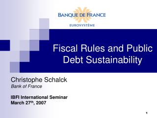 Fiscal Rules and Public Debt Sustainability