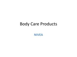 Body Care Products   Oil In Lotion Cocoa Nourish -Nivea