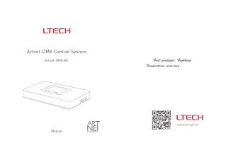 LTECH - Artnet-DMX-8S