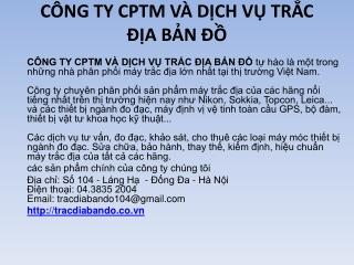 Thông s? k? thu?t máy tr?c ??a b?n ?? - tracdiabando.com.vn
