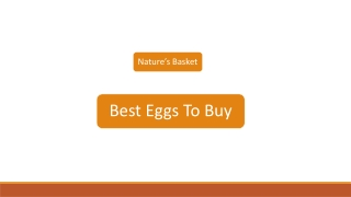 Best Eggs To Buy   Nature's Basket