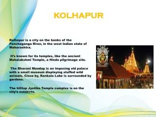 Maharashtra today - Kolhapur News