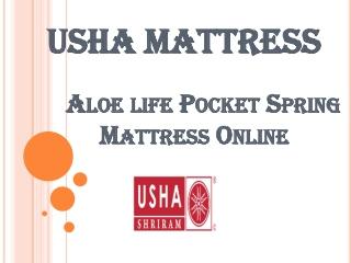 Aloelife Pocket Spring Mattress Online