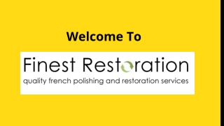 Get Professional French Polishers and Craftsmen in London
