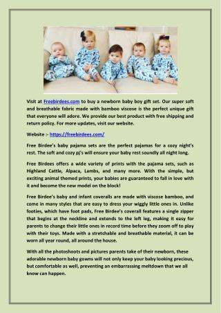 Get Children Pajama Gifts  -  |  -  (Free Birdees)