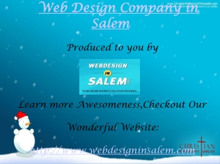 Web Design company in Salem