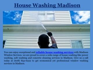 House Washing Madison