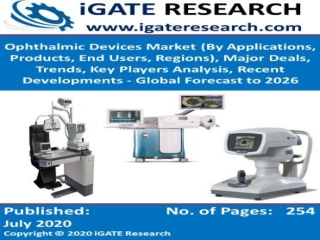 Global Ophthalmic Devices Market and Forecast to 2026
