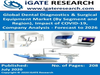 Global Dental Diagnostics and Surgical Equipment Market and Forecast to 2026