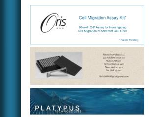 Platypus Technologies, LLC 5520 Nobel Drive, Suite 100 Madison, WI 53711 Toll Free: (866) 296-4455 Phone: (608) 237-1270