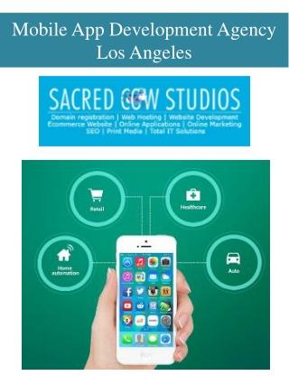 Mobile App Development Agency Los Angeles