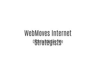 Web Moves