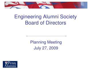 Engineering Alumni Society Board of Directors