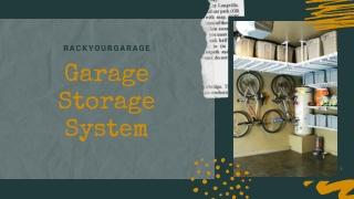 Garage Storage: Rack Your Garage