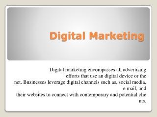 digital marketing service | digital marketing agency