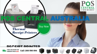 Advantages of Thermal Receipt Printers