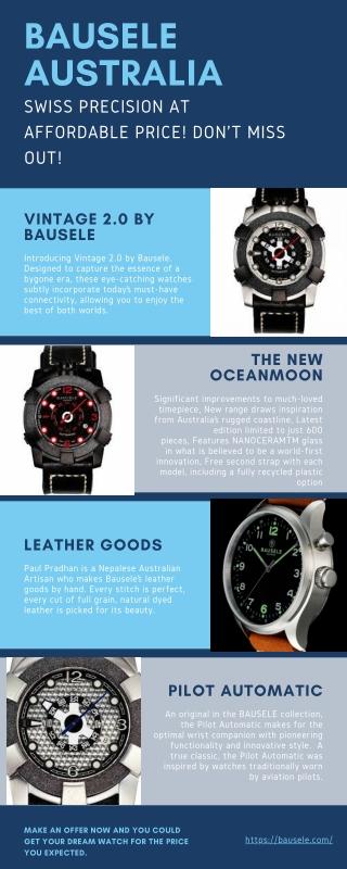 Oceanmoon Headland  Watches