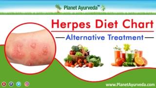 Herpes Diet Chart   Alternative Treatment