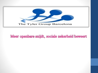 The Tyler Group International Meer openbare snijdt, sociale