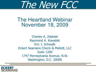 The New FCC
