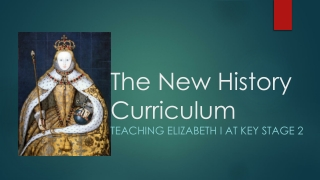 The New History Curriculum