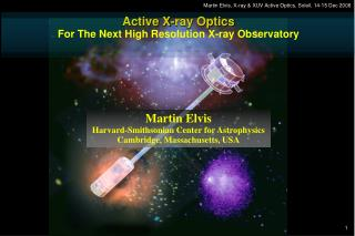 Active X-ray Optics For The Next High Resolution X-ray Observatory