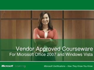 Vendor Approved Courseware