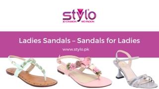 Ladies Sandals – Sandals for Ladies-Stylo.com