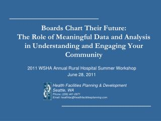 Boards Chart Their Future: The Role of Meaningful Data and Analysis in Understanding and Engaging Your Community