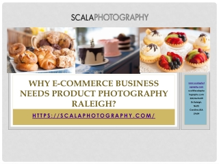 Why E-Commerce Business needs Product photography Raleigh?