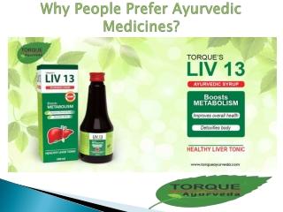 Why People Prefer Ayurvedic Medicines?