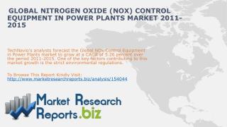 Global Nitrogen Oxide (NOx) Control Equipment in Power Plant