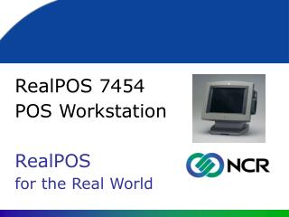 RealPOS  7454  POS Workstation RealPOS  for the Real World