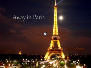Away in Paris