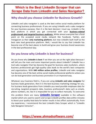 LinkedIn Leads Scraper