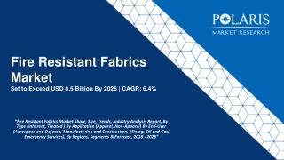 Fire Resistant Fabrics Market