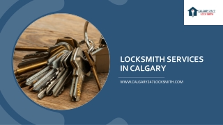 Locksmith Service in Calgary, AB