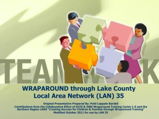 WRAPAROUND through Lake County Local Area Network LAN 35