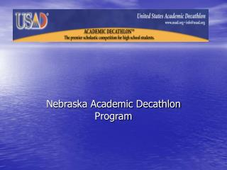 Nebraska Academic Decathlon Program