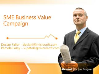 SME Business Value Campaign